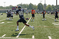 Virginia wide receiver Bobby Smith during open spring practice for the Virginia Cavaliers football team August 7, 2009 at the University of Virginia in Charlottesville, VA. Photo/Andrew Shurtleff
