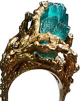 Emerald ring Elvis Presley gifted to the wife of his karate instructor has been sold 50 years later