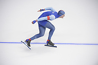 OLYMPIC GAMES: PYEONGCHANG: 19-02-2018, Gangneung Oval, Long Track, 500m Men, Havard Lorentzen (NOR), ©photo Martin de Jong