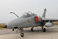 - Italian Air Force, strike aircraft AMX of 32th Wing....- Aeronautica Militare Italia, aereo da attacco AMX del 32° Stormo....