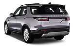 Car pictures of rear three quarter view of 2017 Land Rover Discovery HSE 5 Door SUV angular rear