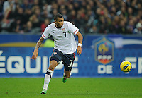 Danny Williams of team USA chases the ball during the friendly match France against USA at the Stade de France in Paris, France on November 11th, 2011.