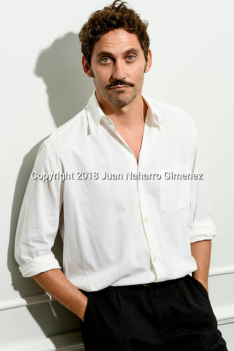 Paco Leon poses during a portrait session.