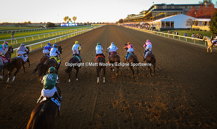 Authentic (#9, Into Mischief), John Velasquez up. wins the BC Classic at Keeneland 11.07.20. Winning Owner: Spendthrift Farm LLC, MyRaceHorse Stable, Madaket Stables LLC and Starlight Racing <br /> Winning Trainer: Bob Baffert