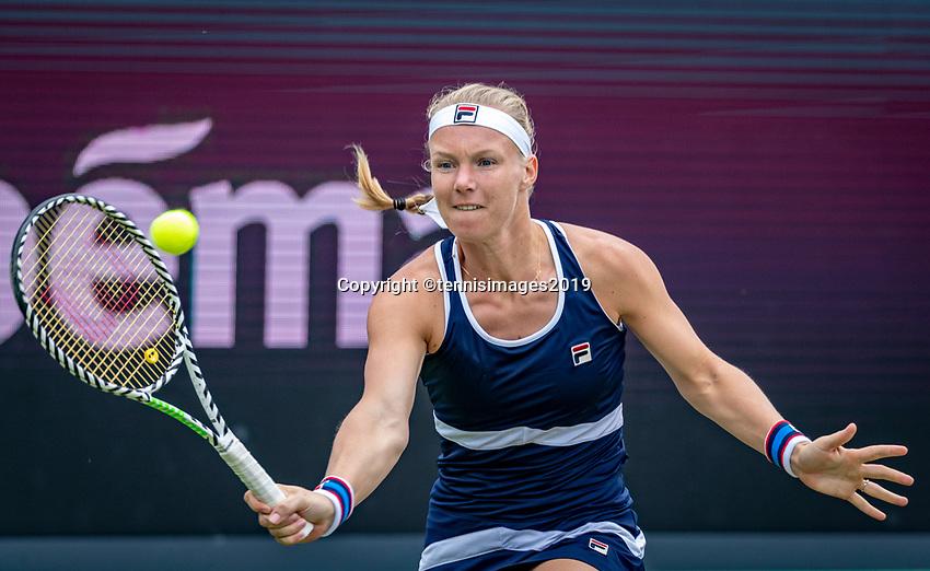 Rosmalen, Netherlands, 15 June, 2019, Tennis, Libema Open, NK Padel, Kiki Bertens (NED)<br /> Photo: Henk Koster/tennisimages.com
