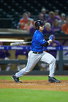 Jack Labosky (6) of the Duke Blue Devils at bat against the Clemson Tigers in Game Three of the 2017 ACC Baseball Championship at Louisville Slugger Field on May 23, 2017 in Louisville, Kentucky. The Blue Devils defeated the Tigers 6-3. (Brian Westerholt/Four Seam Images)