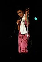EARTHA KITT,<br /> Juin 1984,au<br /> Club Soda de Montreal, CANADA<br /> <br /> PHOTO : Agence Quebec Presse