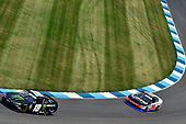 #18: Riley Herbst, Joe Gibbs Racing, Toyota Supra Monster Energy and #39: Ryan Sieg, RSS Racing, Chevrolet Camaro CMRRoofing.com