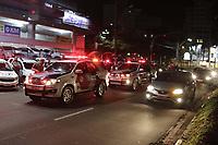 Campinas (SP), 18/03/2021 - Toque de Recolher - A cidade de Campinas (SP) comeca a aplicar nesta quinta-feira (18) toque de recolher a partir das 20h, com restricoes a servicos essenciais, e punicoes mais rigorosas para quem descumprir as novas regras impostas pela prefeitura com objetivo de reduzir os indicadores da Covid-19. A Guarda Municipal, em parceria com as Policias Civil e Militar, promove acao de bloqueio e fiscalizacao. Desde o inicio da pandemia a metropole registra 75.281 infectados, incluindo 2.065 mortes.     (Foto: Denny Cesare/Codigo 19/Codigo 19)