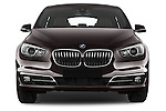 Car photography straight front view of a 2015 BMW 5 Series 535I Luxury 5 Door Hatchback 2WD Front View