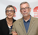 Robyn Goodman and Sam Rudy attends the 2019 Off Broadway Alliance Awards Reception at Sardi's on June 18, 2019 in New York City.