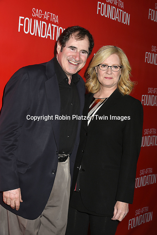 Richard Kind  and Bonnie Hunt attend the Grand Opening of SAG-AFTRA Foundation Robin Williams Center on October 5, 2016 at The Robin Williams Center in New York, New York, USA.<br /> <br /> photo by Robin Platzer/Twin Images<br />  <br /> phone number 212-935-0770