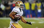 SEATTLE, WA. - DECEMBER 23: Running back LaMichael James #23 of the San Francisco 49ers runs with the ball on a kickoff during the fourth quarter of the game at CenturyLink Field on December 23, 2012 in Seattle,Wa. (Photo by Steve Dykes/Getty Images) *** Local Caption *** LaMichael James