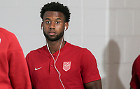 Cleveland, OH - Saturday July 15, 2017: Kellyn Acosta during a 2017 Gold Cup match between the men's national teams of the United States (USA) and Nicaragua (NCA) at FirstEnergy Stadium.