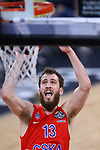 Turkish Airlines Euroleague.<br /> Final Four - Vitoria-Gasteiz 2019.<br /> Semifinals.<br /> CSKA Moscow vs Real Madrid: 95-90.<br /> Sergio Rodriguez.