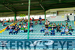 The Kilmoyley suporters in the stands before the Kerry County Senior Hurling Championship Final match between Kilmoyley and Causeway at Austin Stack Park in Tralee