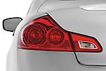Tail light close up detail view of a 2009 Infiniti G37 S Sedan