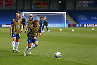 2nd May 2021; Kingsmeadow, London, England;  Jessie Fleming  Chelsea during the UEFA Womens Champions League Semi Final game between Chelsea and Bayern Munich at Kingsmeadow