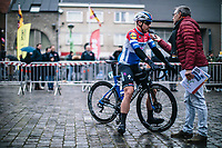 (eventual race winner) Fabio Jakobsen (NED/Deceuninck Quick Step) pre race Sporza interview<br /> <br /> GP Monseré 2020<br /> One Day Race: Hooglede – Roeselare 196.8km. (UCI 1.1)<br /> Bingoal Cycling Cup 2020