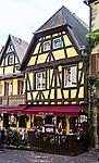 Hotel and restaurant Au Cerf, Riquewihr