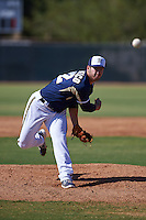 Milwaukee Brewers pitcher Damien Magnifico (82) during an instructional league game against the Cleveland Indians on October 8, 2015 at the Maryvale Baseball Complex in Maryvale, Arizona.  (Mike Janes/Four Seam Images)