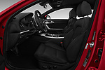 Front seat view of a 2018 KIA Stinger GT 5 Door Hatchback front seat car photos