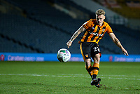 Hull City's Thomas Mayer scores his penalty<br /> <br /> Photographer Alex Dodd/CameraSport<br /> <br /> Carabao Cup Second Round Northern Section - Leeds United v Hull City -  Wednesday 16th September 2020 - Elland Road - Leeds<br />  <br /> World Copyright © 2020 CameraSport. All rights reserved. 43 Linden Ave. Countesthorpe. Leicester. England. LE8 5PG - Tel: +44 (0) 116 277 4147 - admin@camerasport.com - www.camerasport.com