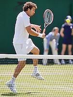 29-06-12, England, London, Tennis , Wimbledon, Rojer