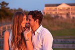 Hamptons Sunset Engagement Photography<br /> Ariel and Spencer