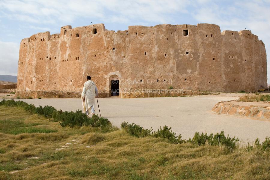 Qasr al-Haj, Libya - Fortified Berber Granary, 12th Century