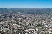 aerial photograph San Jose, Santa Clara, California