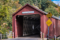 West Cornwall Covered Bridge, Connecticut, USA