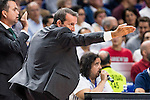 Unicaja Malaga's player coach Joan Plaza during match of Liga Endesa at Barclaycard Center in Madrid. September 30, Spain. 2016. (ALTERPHOTOS/BorjaB.Hojas)