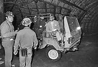 - Sicilia, miniera di salgemma a Pasquasia (Enna, 1983) ....- Sicily, salt mine in Pasquasia (Enna, 1983)