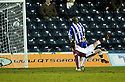 18/01/2011   Copyright  Pic : James Stewart.sct_jsp013_kilmarnock_v_hearts  .:: STEPHEN ELLIOT SCORES HEARTS FIRST WITH AN OVERHEAD KICK ::.James Stewart Photography 19 Carronlea Drive, Falkirk. FK2 8DN      Vat Reg No. 607 6932 25.Telephone      : +44 (0)1324 570291 .Mobile              : +44 (0)7721 416997.E-mail  :  jim@jspa.co.uk.If you require further information then contact Jim Stewart on any of the numbers above.........
