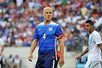 Nashville, Tenn. - Friday, July 3, 2015: The US Men's National team defeat Guatemala 4-0 in an international friendly match at Nissan stadium.