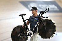 Myron Simpson during the 2020 Vantage Elite and U19 Track Cycling National Championships at the Avantidrome in Cambridge, New Zealand on Thursday, 23 January 2020. ( Mandatory Photo Credit: Dianne Manson )