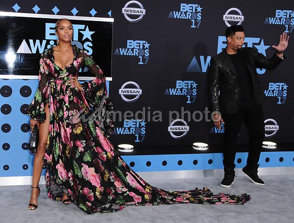25 June 2017 - Los Angeles, California - LeToya Luckett. 2017 BET Awards held at the Microsoft Square in Los Angeles. Photo Credit: Birdie Thompson/AdMedia