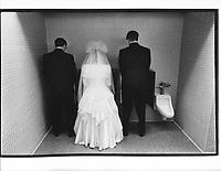 The wedding of Suzy and Steve Jonsen, Denver, November 30, 1991.