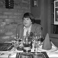 Alain Morisod (date inconnue, avant 1984)<br /> <br /> Photo : Agence Quebec Presse - Roland Lachance