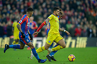 Emerson Palmieri of Chelsea during the Premier League match between Crystal Palace and Chelsea at Selhurst Park, London, England on 30 December 2018. Photo by Andrew Aleks.