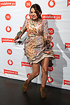 Ana Aria during the photocall of VODAFONE YU MUSIC SHOWS<br /> ESTOPA  in Concert. <br /> <br /> October 2, 2019. (ALTERPHOTOS/David Jar)