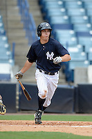 New York Yankees third baseman Ty McFarland (76) during an Instructional League game against the Toronto Blue Jays on September 24, 2014 at George M. Steinbrenner Field in Tampa, Florida.  (Mike Janes/Four Seam Images)