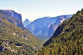 Yosemite Tunnel View Overlook