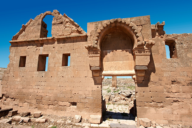 """Pictures of the the ruins of the 8th century University of  Harran, south west Anatolia, Turkey.  Harran was a major ancient city in Upper Mesopotamia whose site is near the modern village of Altınbaşak, Turkey, 24 miles (44 kilometers) southeast of Şanlıurfa. The location is in a district of Şanlıurfa Province that is also named """"Harran"""". Harran is famous for its traditional 'beehive' adobe houses, constructed entirely without wood. The design of these makes them cool inside. 49"""