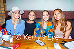 Enjoying the evening in Tatler Jack's in Killarney on Saturday, l to r: Rebecca, Leah and Amy O'Shea and Katie O'Connor. (All Killarney).