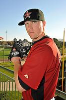 Feb 25, 2010; Kissimmee, FL, USA; The Houston Astros pitcher Matt Lindstrom (22) during photoday at Osceola County Stadium. Mandatory Credit: Tomasso De Rosa/ Four Seam Images