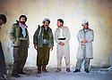 Iran 1980 <br /> In Rajan, from left to right, Walid Ghalib, Failak Eddin Kakai, Dr. Hussein and Najmeddin Yousefi  <br /> Iran1980 <br /> A Rajan,de gauche a droite,Walid Ghalib, Failak Eddin Kakai, Dr.HUssein  et Najmeddin  Yousefi