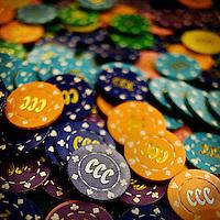 Casino chips.