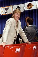Wayne Gretzky, le 10 juin 1981<br /> <br /> PHOTO : Agence Quebec Presse